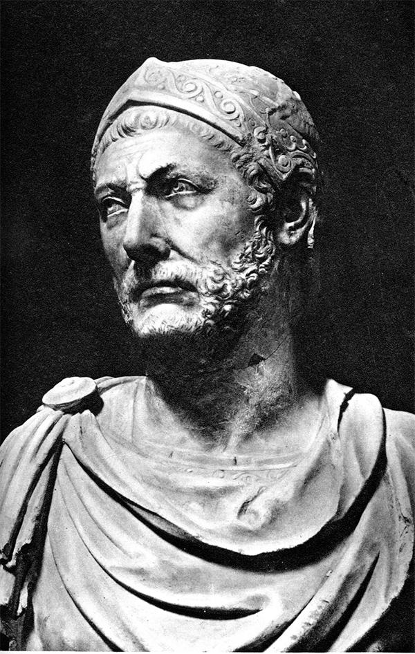 Ганнибал Барка - ещё в юности поклялся воевать с римлянами пока есть силы