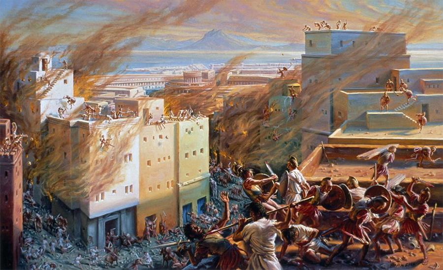 Штурм Карфагена римлянами