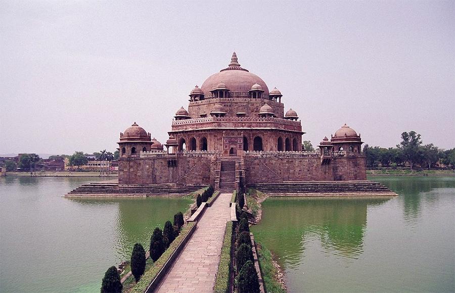 Бихар - буддийский монастырь времен древней Индии