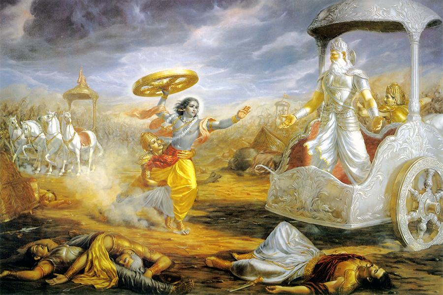 Махабхарата содержит столько фантастических историй, изобилующих странными подробностями, что порой кажется - а что, если тут написана хотя бы толика правды?