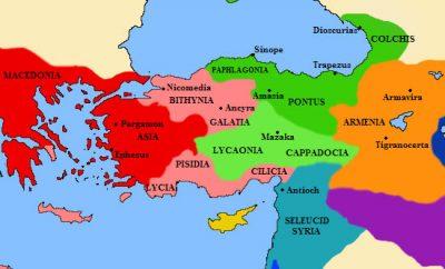 Эллинистические государства Малой Азии в III веке до н. э.