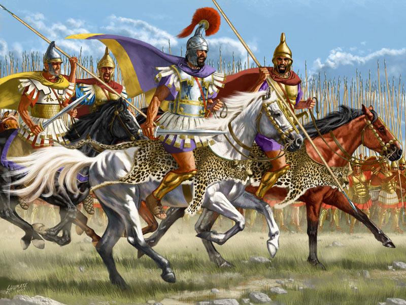 Гетайры - тяжелая конница определившая исход многих сражений Александра Македонского