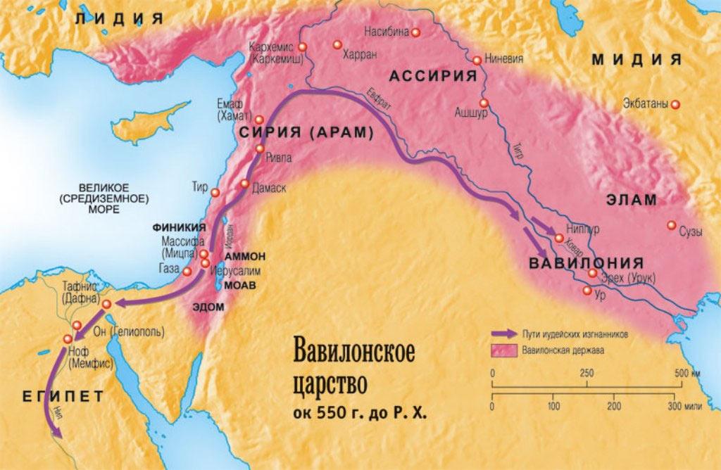 Территория Сирии в I тысячелетии до нашей эры