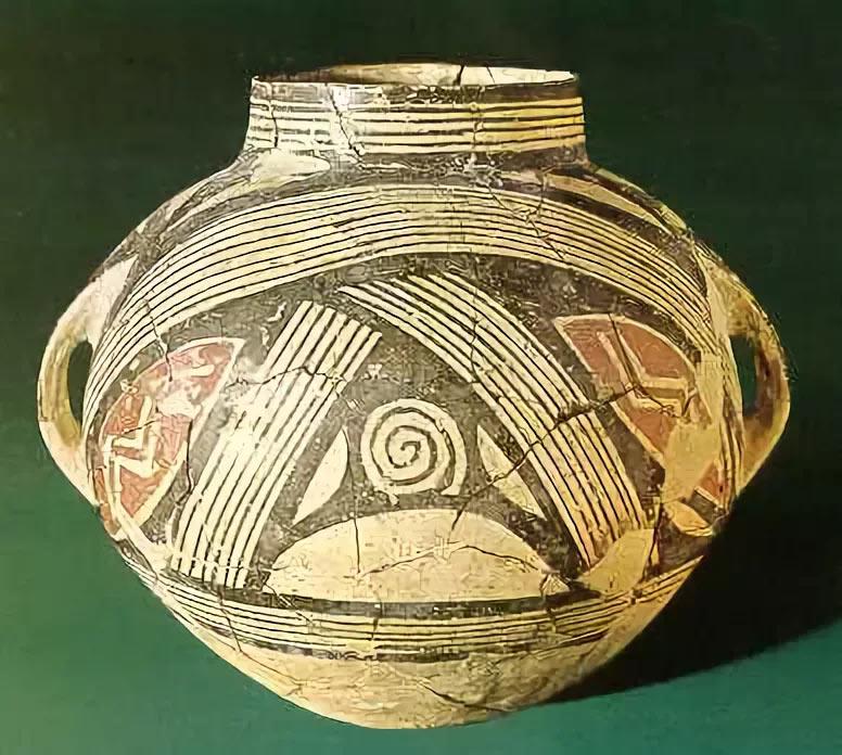 Сосуд т.н. «культуры Димини». Кто поверит, что этой очаровательной вещи больше 4-х тысяч лет?