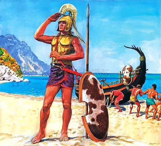 В одном греки «микенцы» были похожи на «гомеровцев» - в страсти к путешествиям... и завоеваниям