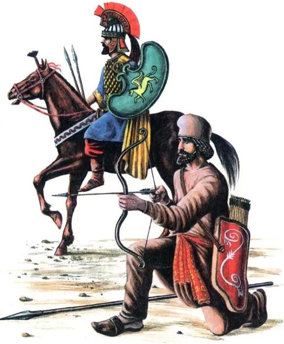 Воины времен лидийского царства