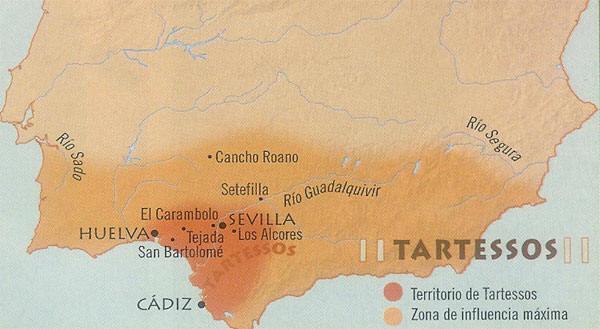южно-испанское государство Тартесс процветало во времена раннего железного века Европы
