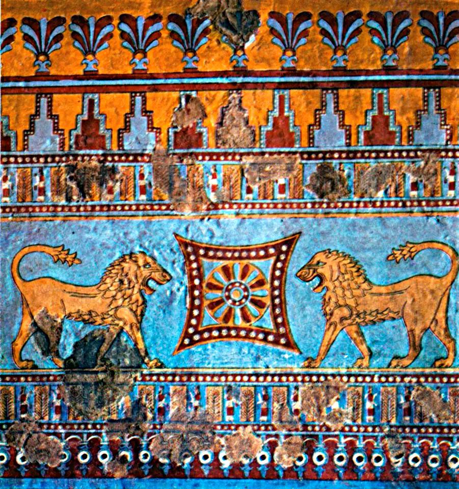 Искусство Урарту напоминало ассирийские образчики