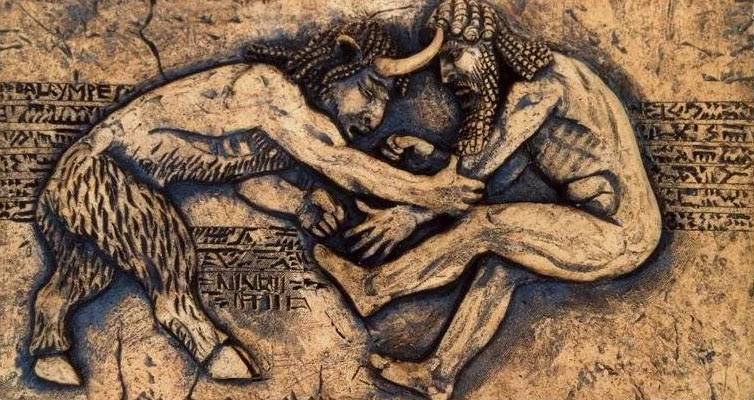 Поединок Гильгамеша и Энкиду