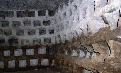 Колумбарии и похоронные товарищества в Древнем Риме