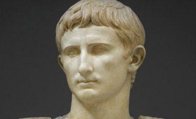 Октавиан Август, римский император (63 г. до н.э.-14 г. н.э.)