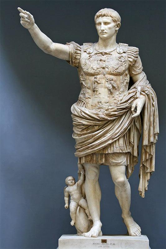 Самое знаменитое скульптурное изображение Октавиана Августа