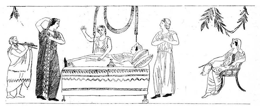 Обряд похорон в Древнем Риме
