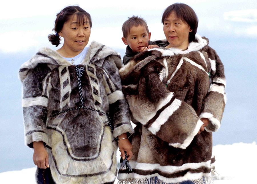 Внешность и язык эскимосов