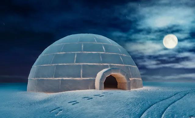 иглу - снежный дом эскимосов