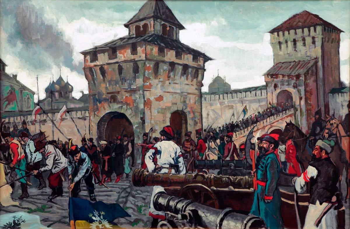 История правления Семибоярщины, хронология